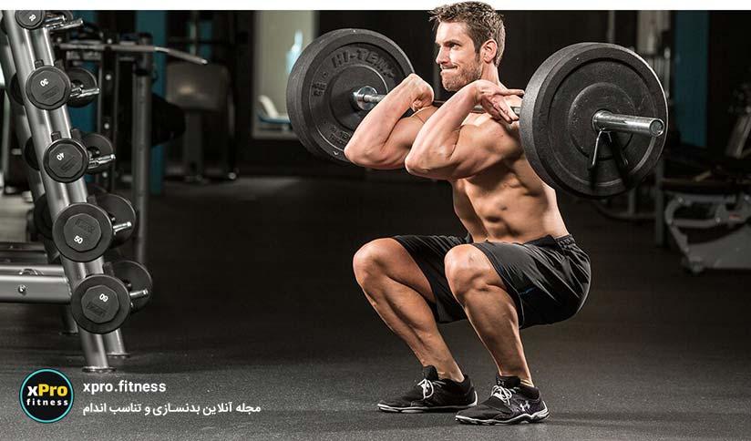 عضله سازی با تمرینات اسپلیت