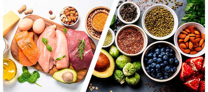 مواد غذایی مجاز در رژیم غذایی Zone