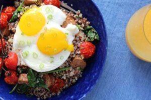 صبحانه سرشار از پروتئین