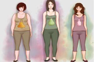 انواع تیپ بدنی خانمها