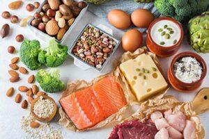 غذاهای پروتئینی برای بدنسازی