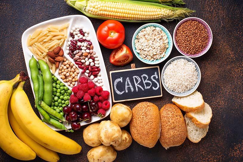غذاهای حاوی کربوهیدرات بالا