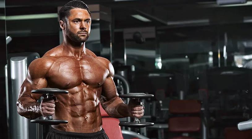 برنامه تمرینی عضله سازی حرفه ای