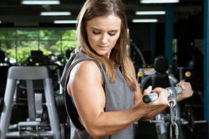 تقویت بازوی خانمها